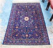 PERSIAN HAND KNOTTED WOOL RUG  61 x 41