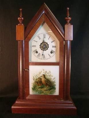 ANSONIA STEEPLE MANTLE CLOCK