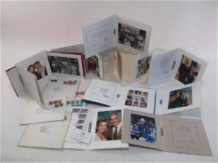 HOLIDAY GREETING CARDS FROM KING HUSSEIN OF JORDAN