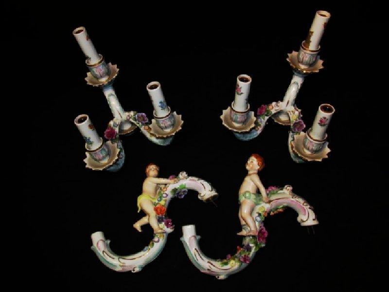 Italiangerman porcelain chandelier parts assorted italiangerman porcelain chandelier parts arubaitofo Images