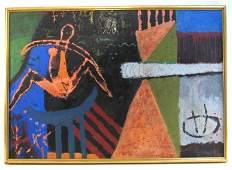 CONTEMPORARY ACRYLIC ON CANVAS BY CLAUDIA GARCIA
