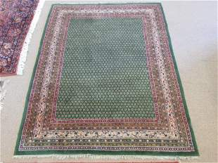 PERSIAN SERABEND HAND KNOTTED WOOL RUG 6 X 8