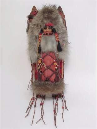 NATIVE AMERICAN WALL HANGING THE VANISHED WARRIORS