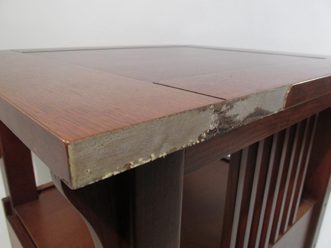 SMALL ARTS & CRAFTS STICKLEY LIBRARY TABLE - 3
