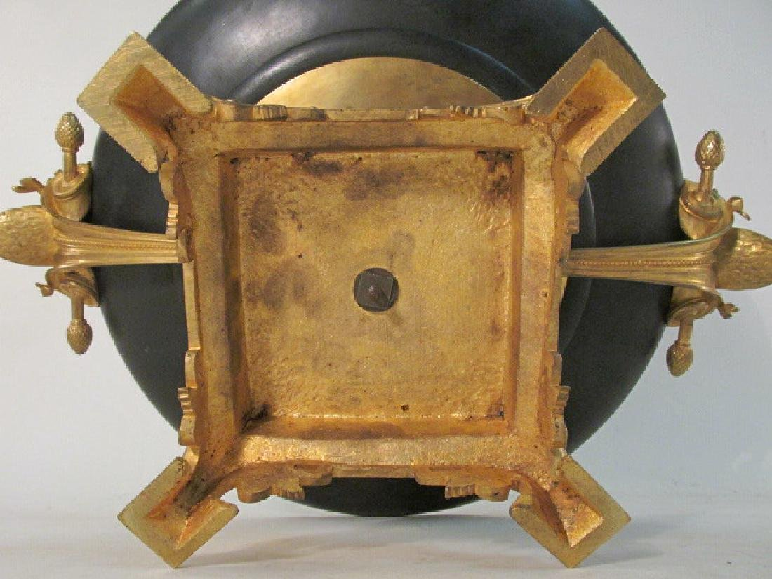 FRENCH GILT BRONZE TAZZA BY EMILE-LOUIS PICAULT - 8