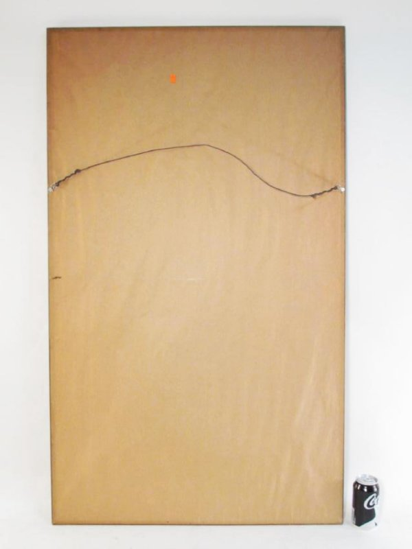 LARGE ANTIQUE CHINESE ANCESTRAL PORTRAIT PAINTING - 6