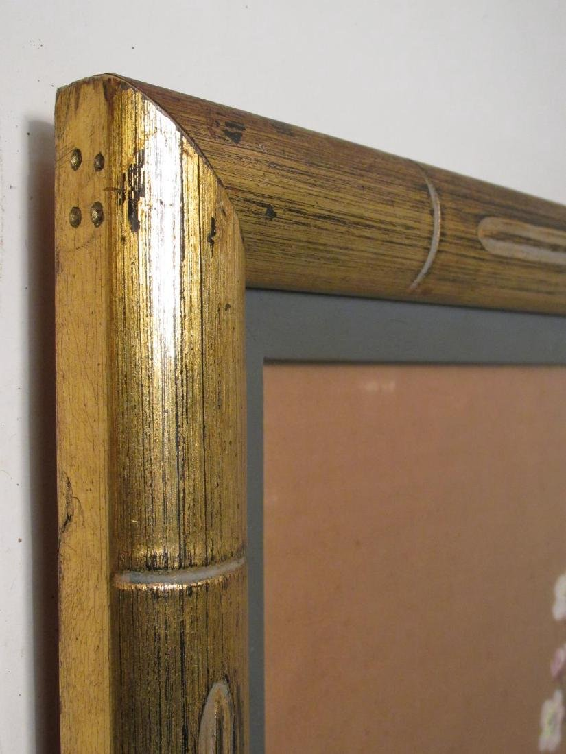 VINTAGE BAMBOO STYLE PIER MIRROR - 5