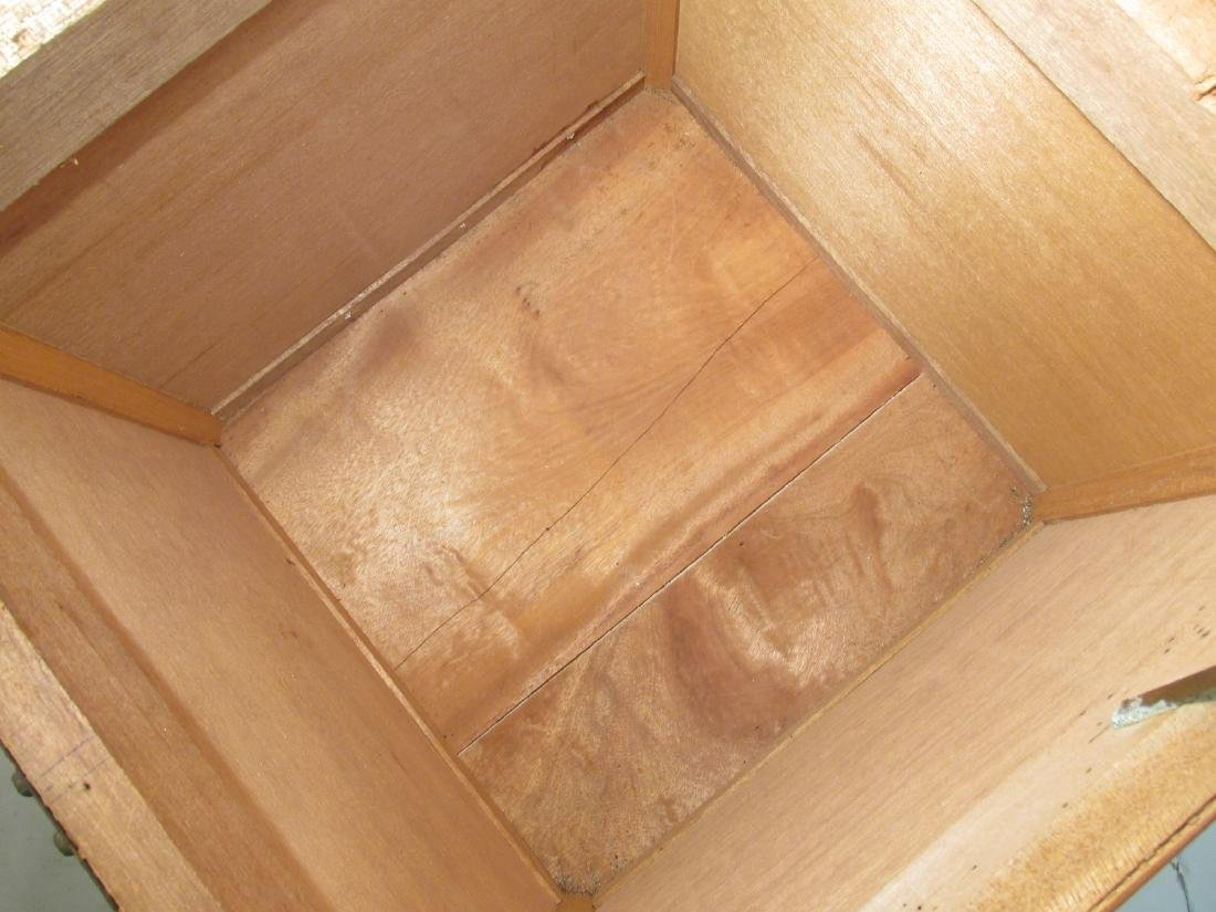 VINTAGE CHINESE RATTAN STORAGE BOX - 7