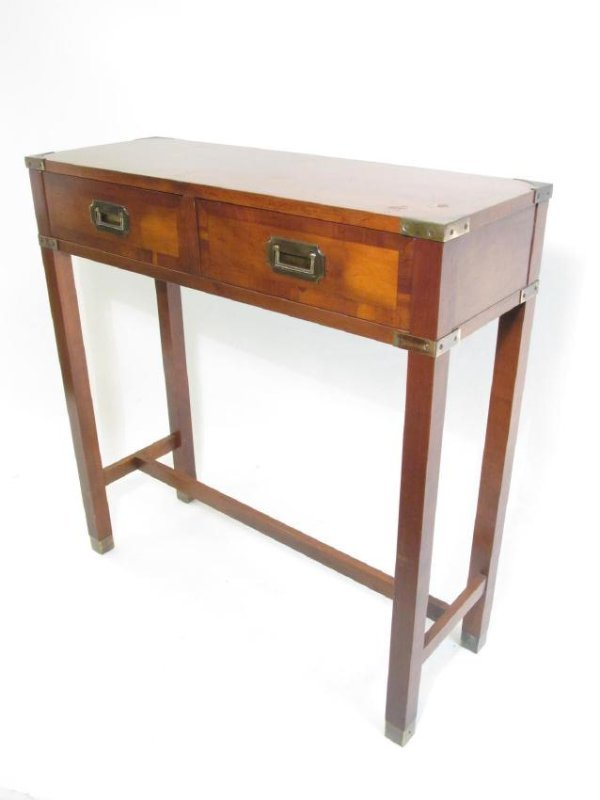 HEKMAN CHERRY WOOD CONSOLE TABLE
