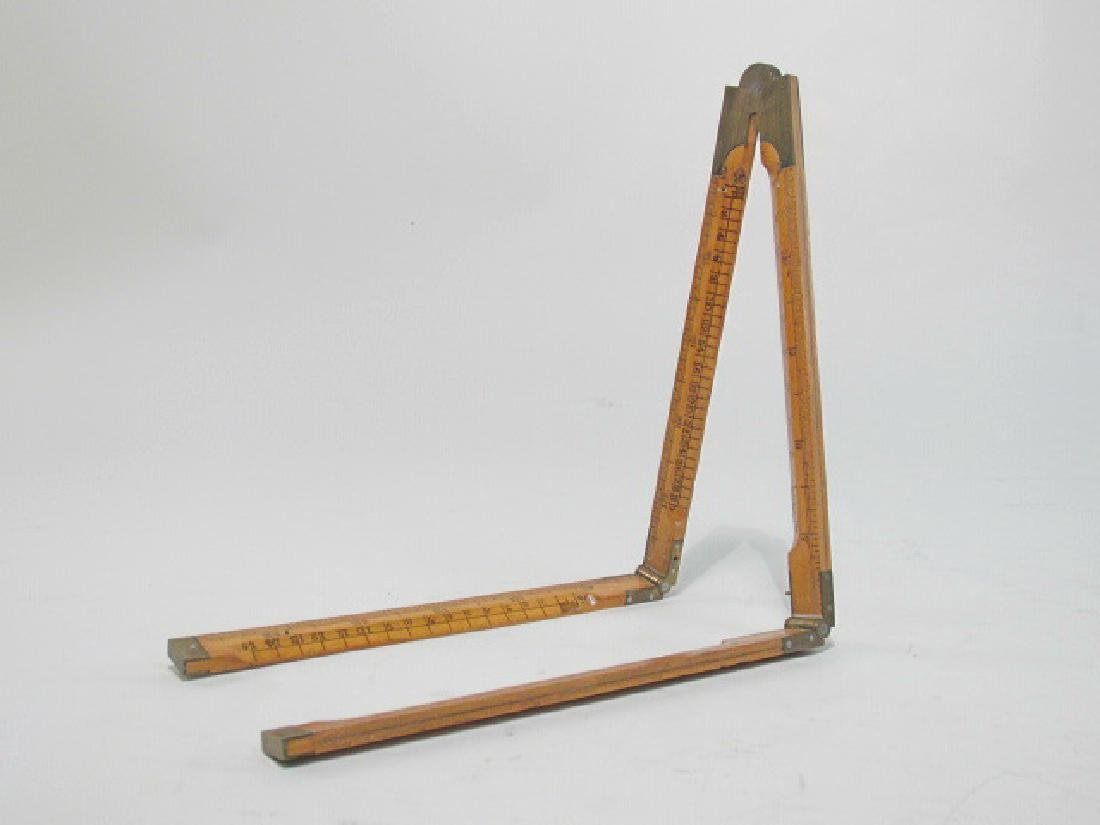 ANTIQUE MEASURING RULER