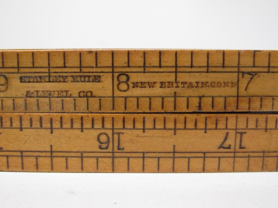 ANTIQUE MEASURING RULER - 3