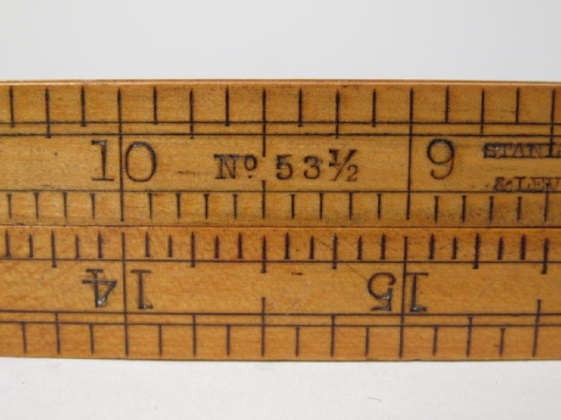 ANTIQUE MEASURING RULER - 4
