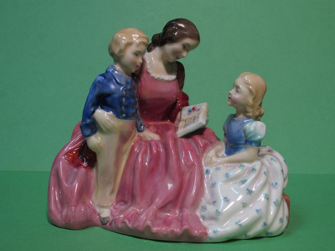 THREE ROYAL DOULTON PORCELAIN FIGURINES - 2