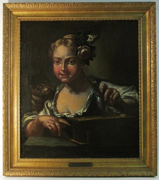 OLD MASTER OIL PAINTING: MANNER OF PIAZZETTA