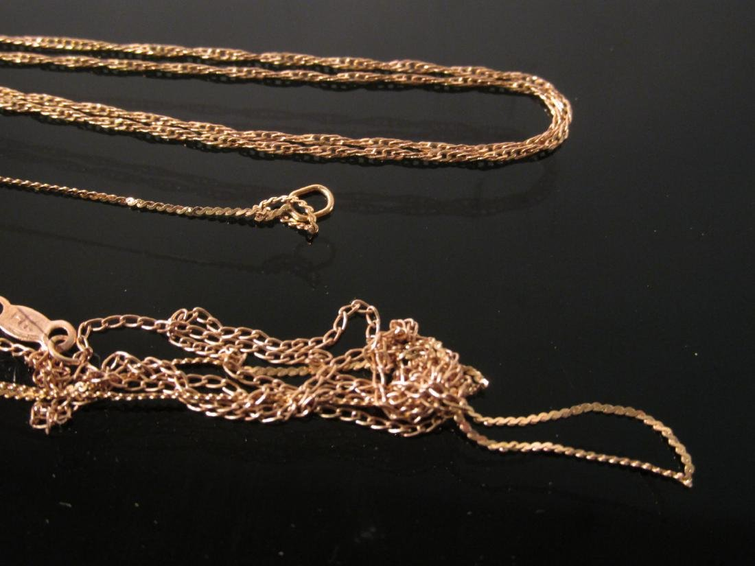 ASSORTED 14K YELLOW GOLD JEWELRY 19.3 GRAMS - 5