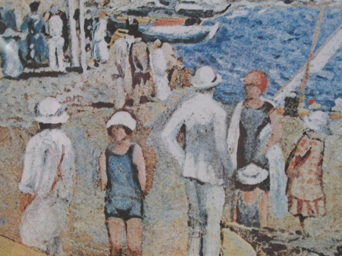 SALVADOR DALI HAND SIGNED LITHOGRAPH: LLANER BEACH - 3