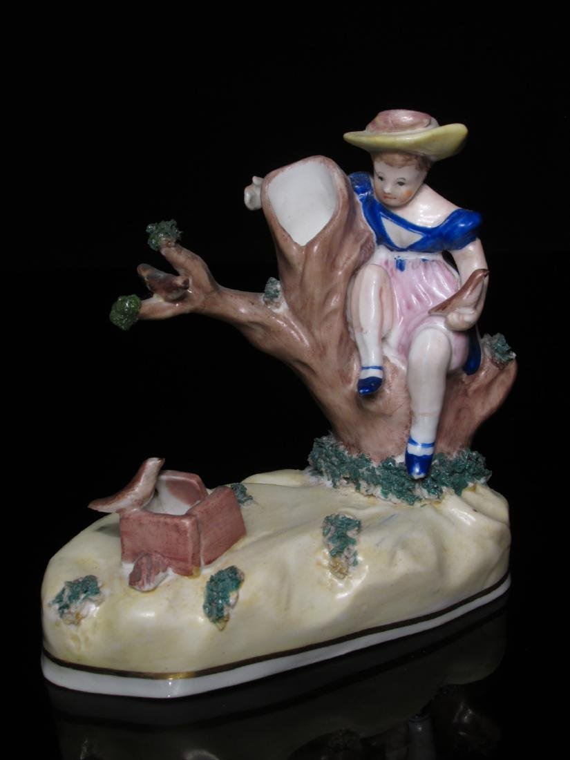 TWO STAFFORDSHIRE POTTERY FIGURES BY SAMUEL ALCOCK - 2