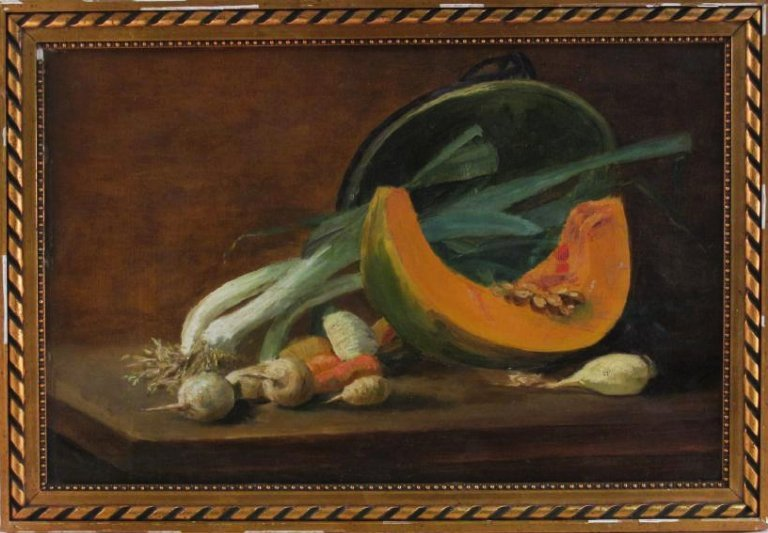 LATE 19TH CENTURY OIL ON BOARD STILL LIFE PAINTING