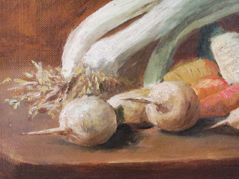 LATE 19TH CENTURY OIL ON BOARD STILL LIFE PAINTING - 2
