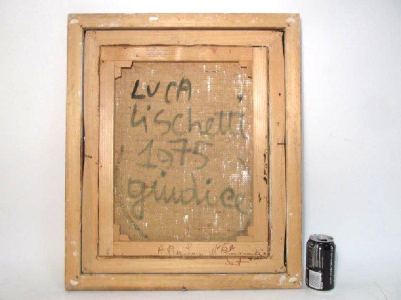 "LUCA LISCHETTI OIL ON CANVAS PAINTING:""GUIDICI"" - 6"