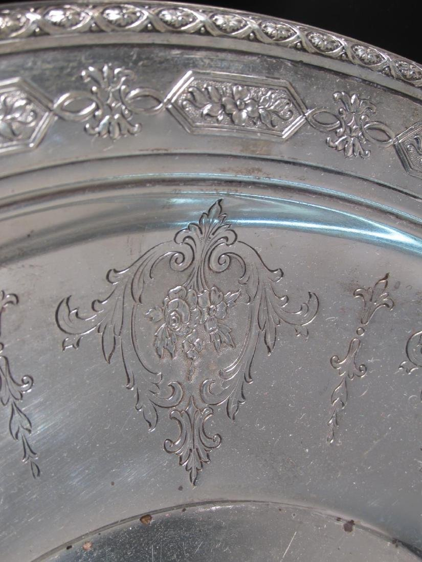"""TOWLE STERLING SILVER 12"""" BOWL 17.6 TROY - 2"""