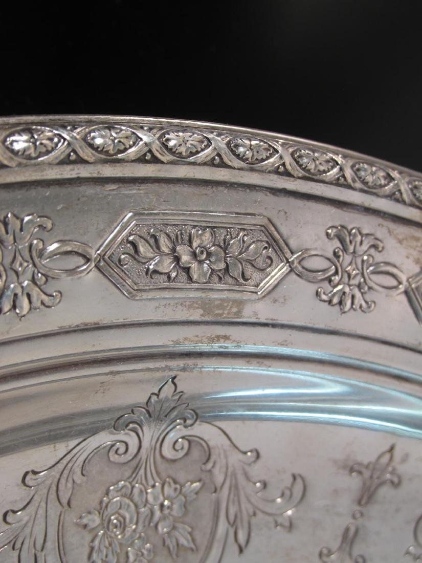 """TOWLE STERLING SILVER 12"""" BOWL 17.6 TROY - 3"""