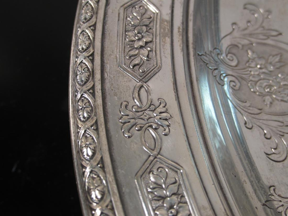 """TOWLE STERLING SILVER 12"""" BOWL 17.6 TROY - 4"""