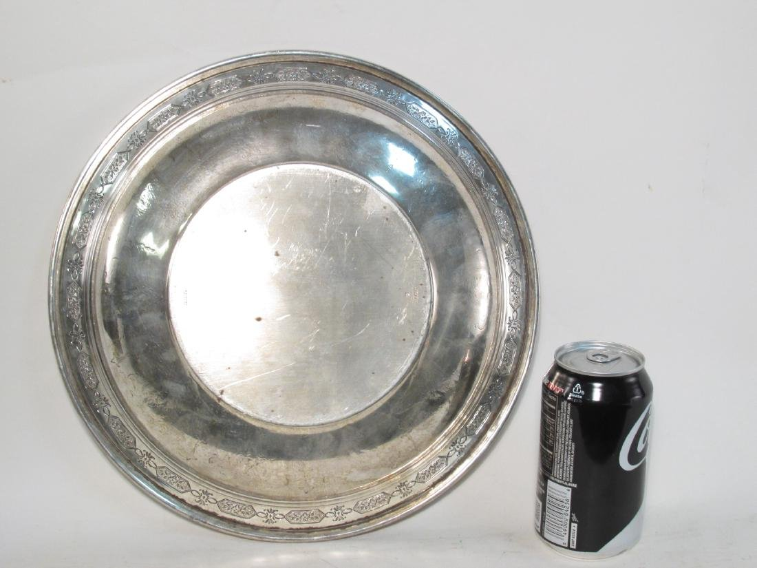 """TOWLE STERLING SILVER 12"""" BOWL 17.6 TROY - 6"""