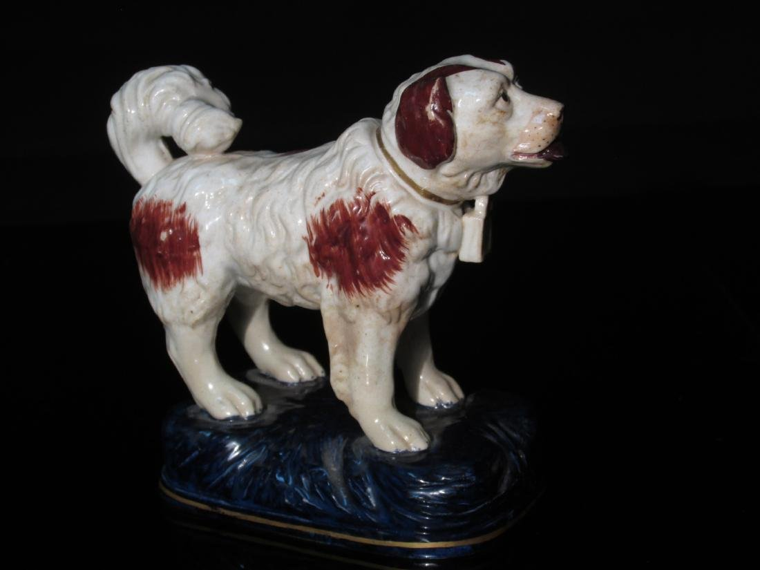 THREE STAFFORDSHIRE PORCEALIN FIGURINES - 9