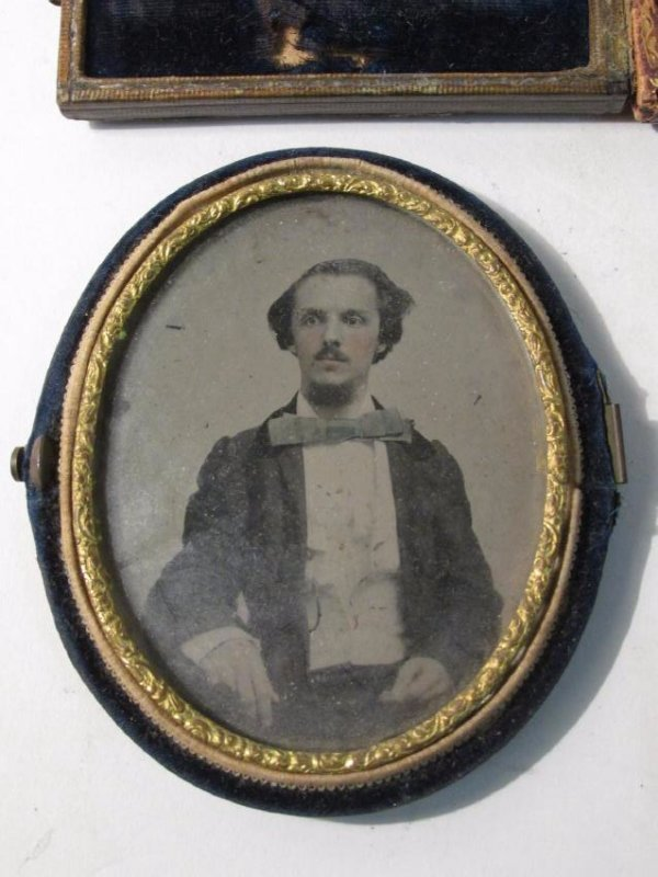 ASSORTED DAGUERREOTYPES & THERMOPASTIC UNION CASES - 3