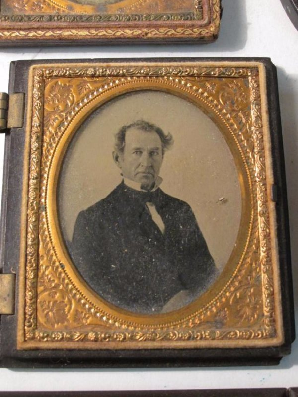 ASSORTED DAGUERREOTYPES & THERMOPASTIC UNION CASES - 4