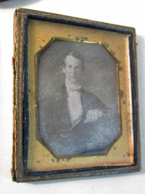 ASSORTED DAGUERREOTYPES & THERMOPASTIC UNION CASES - 6