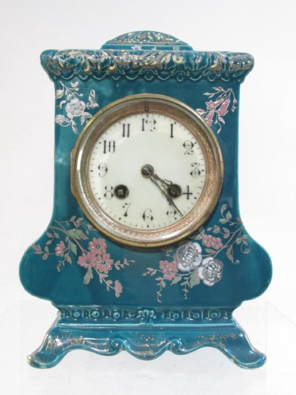 FRENCH CHINSOISERIE JAPY FRERES MANTEL CLOCK