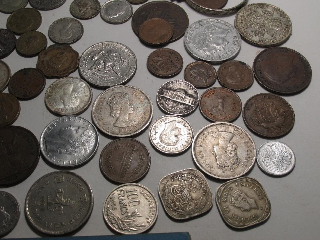 ASSORTED VINTAGE FOREIGN CURRENCY: FRANCS, YEN etc - 8