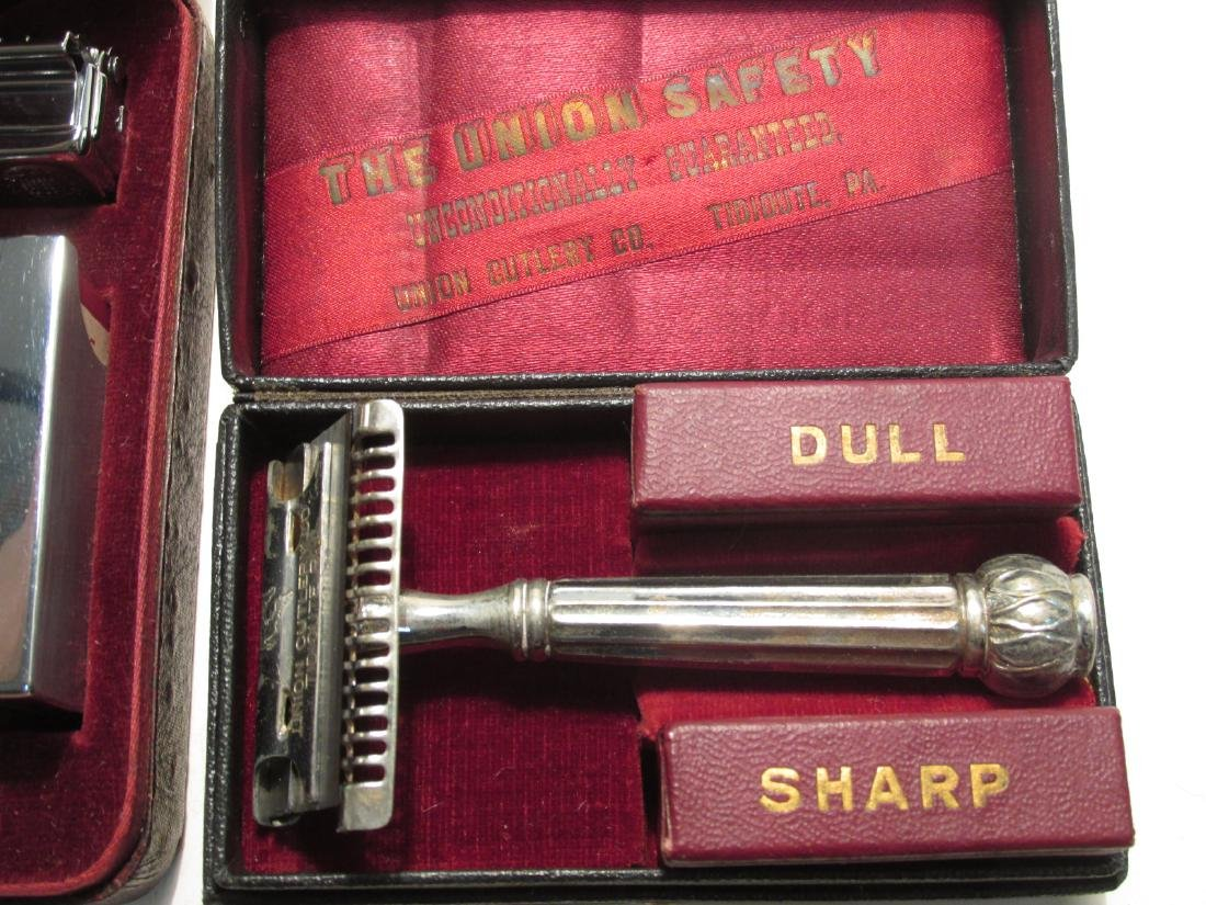 EIGHT VINTAGE SE SAFETY RAZORS: AELDIN, DIME, ETC. - 2
