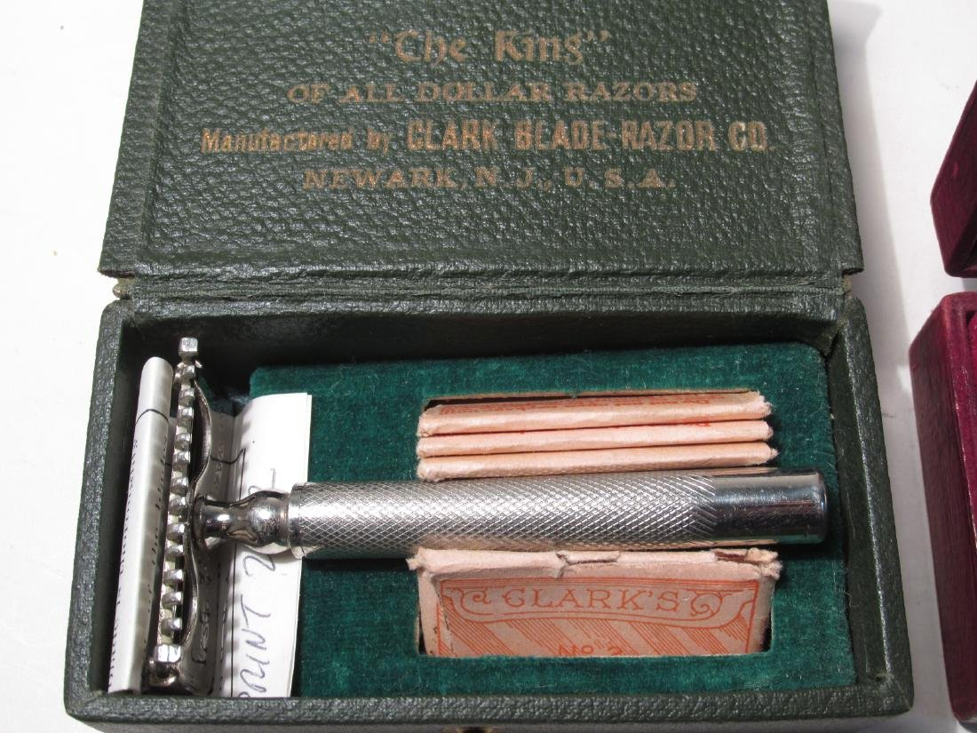 EIGHT VINTAGE SE SAFETY RAZORS: AELDIN, DIME, ETC. - 7