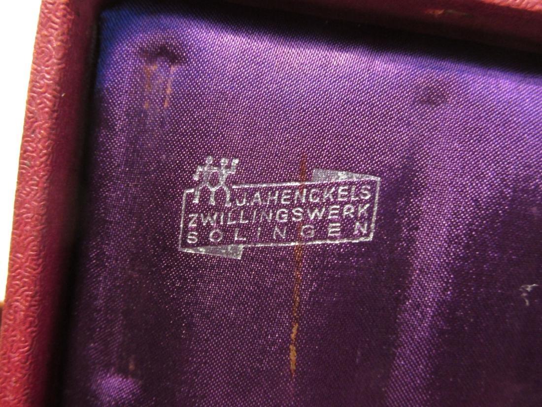 THREE VINTAGE HENCKELS SAFETY RAZORS: WOTAN, ETC. - 3