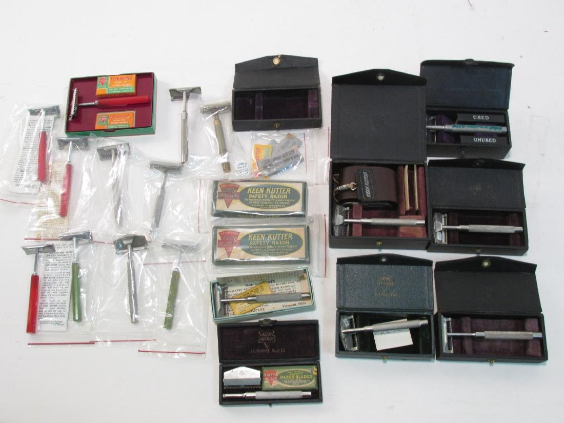 COLLECTION ASSORTED KEEN KUTTER SE SAFETY RAZORS