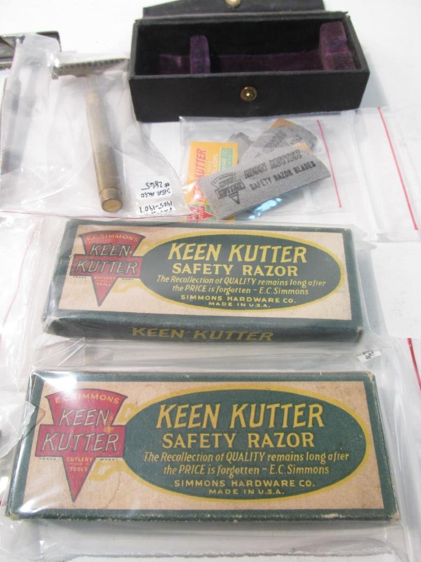 COLLECTION ASSORTED KEEN KUTTER SE SAFETY RAZORS - 5