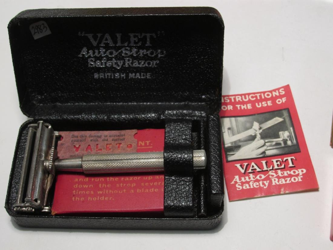 SIX COLLECTOR QUALITY VALET AUTOSTROP SAFETY RAZOR - 4