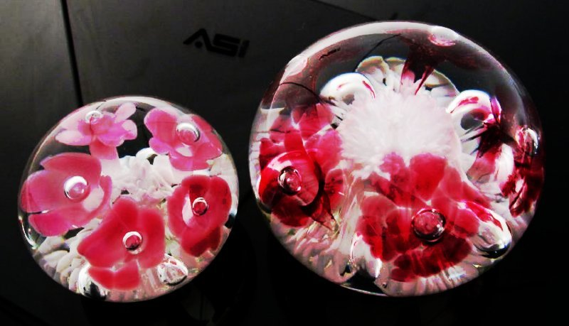 THIRTEEN ART GLASS PAPERWEIGHTS: JOE RICE, ETC. - 5
