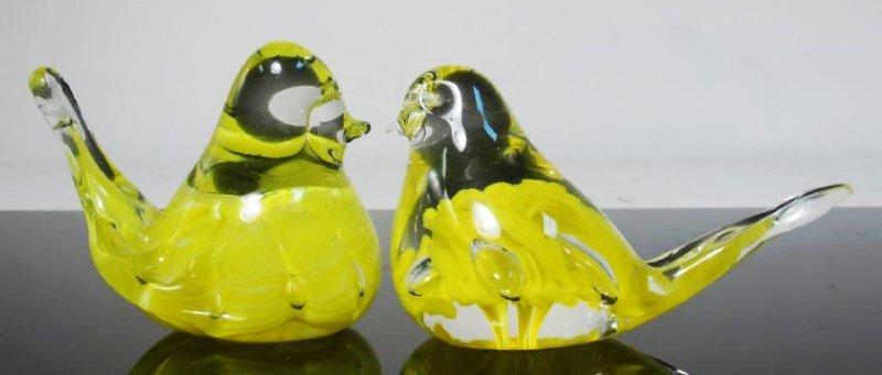 THIRTEEN ART GLASS PAPERWEIGHTS: JOE RICE, ETC. - 7