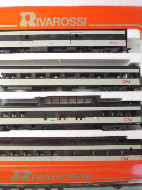 GROUP VINTAGE BOXED RIVAROSSI HO GAUGE SCALE TRAIN - 4