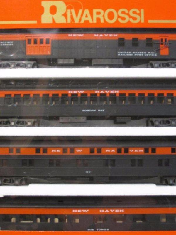 GROUP VINTAGE BOXED RIVAROSSI HO GAUGE SCALE TRAIN - 8