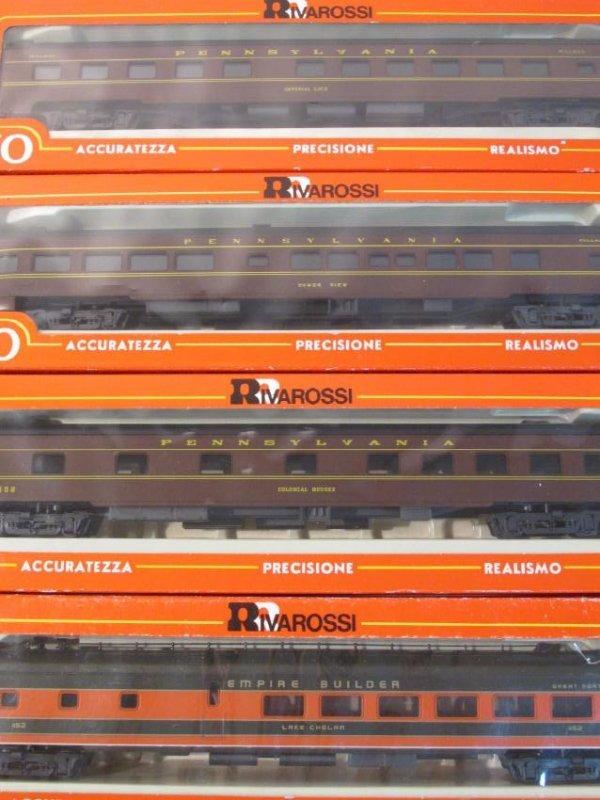 GROUP VINTAGE BOXED RIVAROSSI HO GAUGE SCALE TRAIN - 9