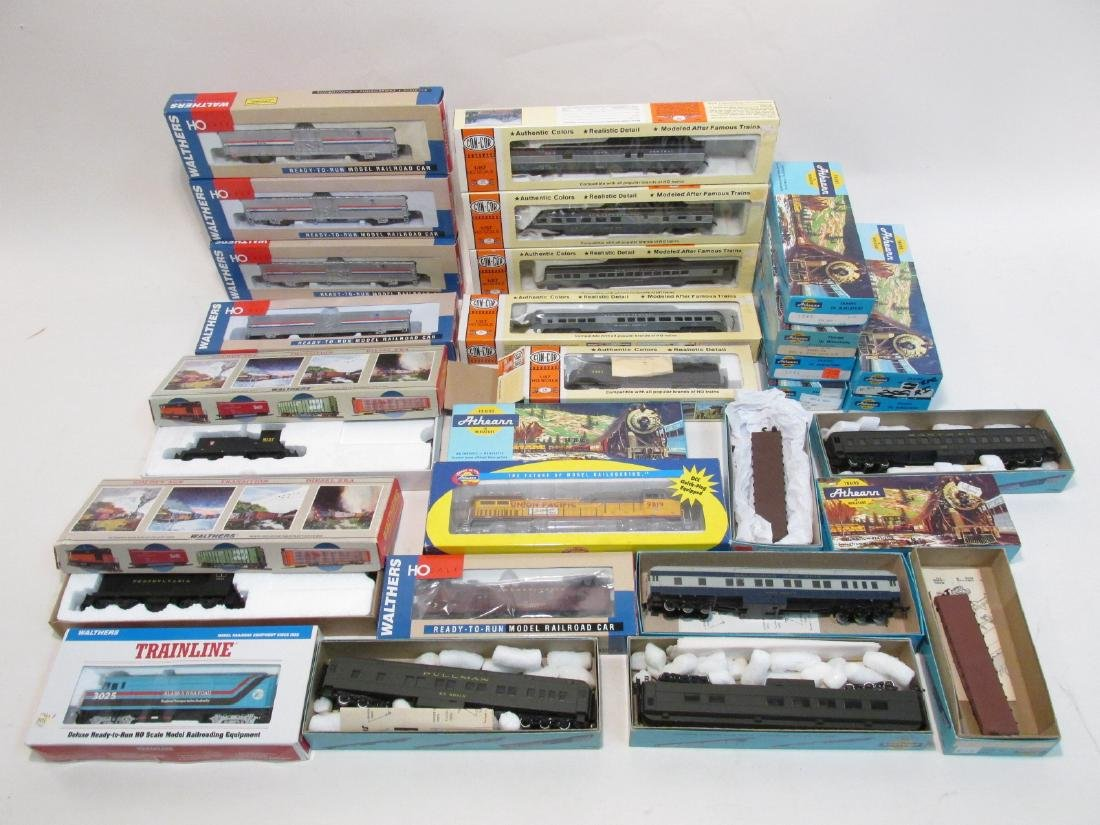 VINTAGE HO GAUGE SCALE TRAINS WALTHERS CON-COR etc