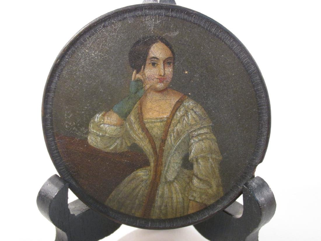 EARLY 19TH CENTURY HAND PAINTED PORTRAIT SNUFF BOX - 2