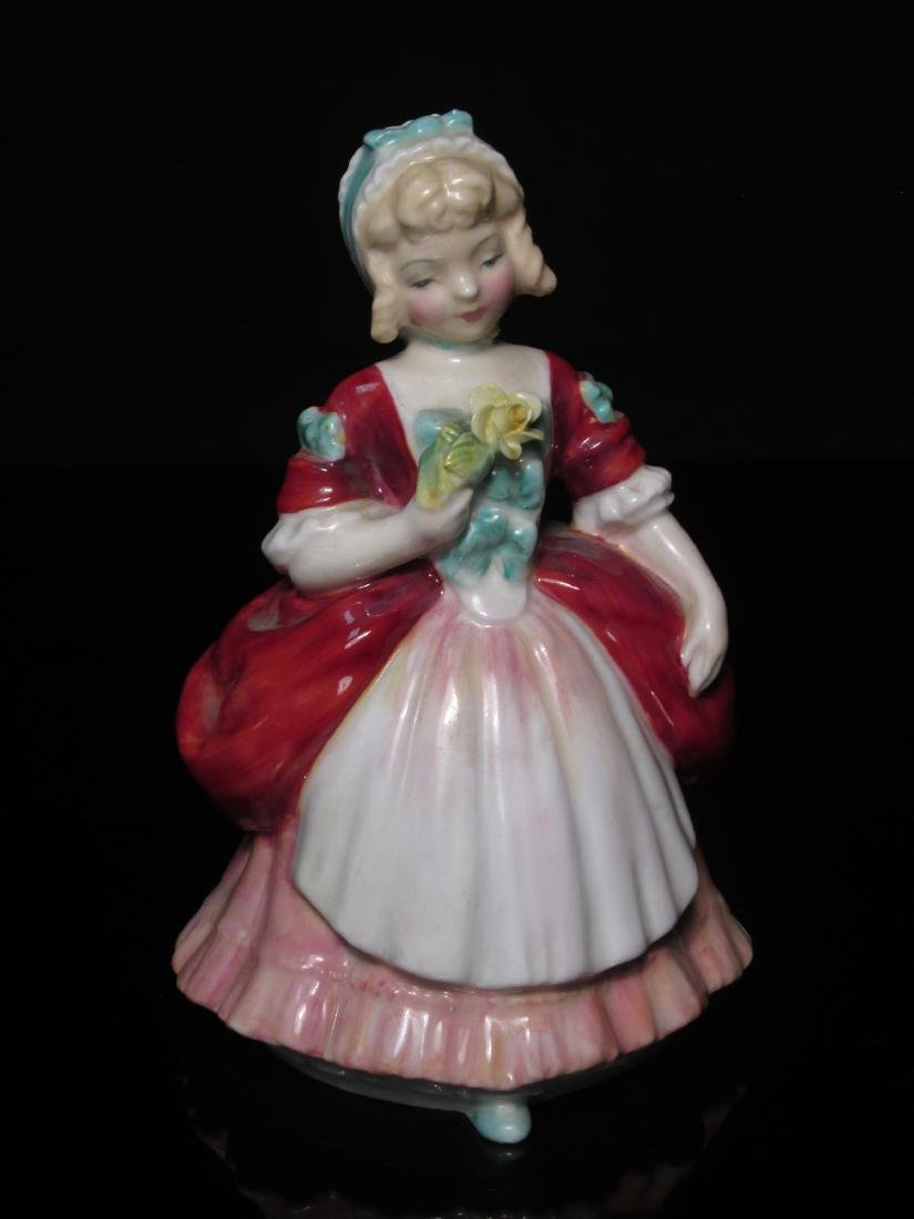 FIVE PORCELAIN FIGURINES ROYAL DOULTON & WORCESTER - 10