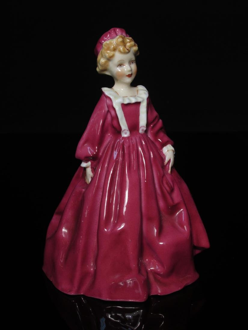 FIVE PORCELAIN FIGURINES ROYAL DOULTON & WORCESTER - 2