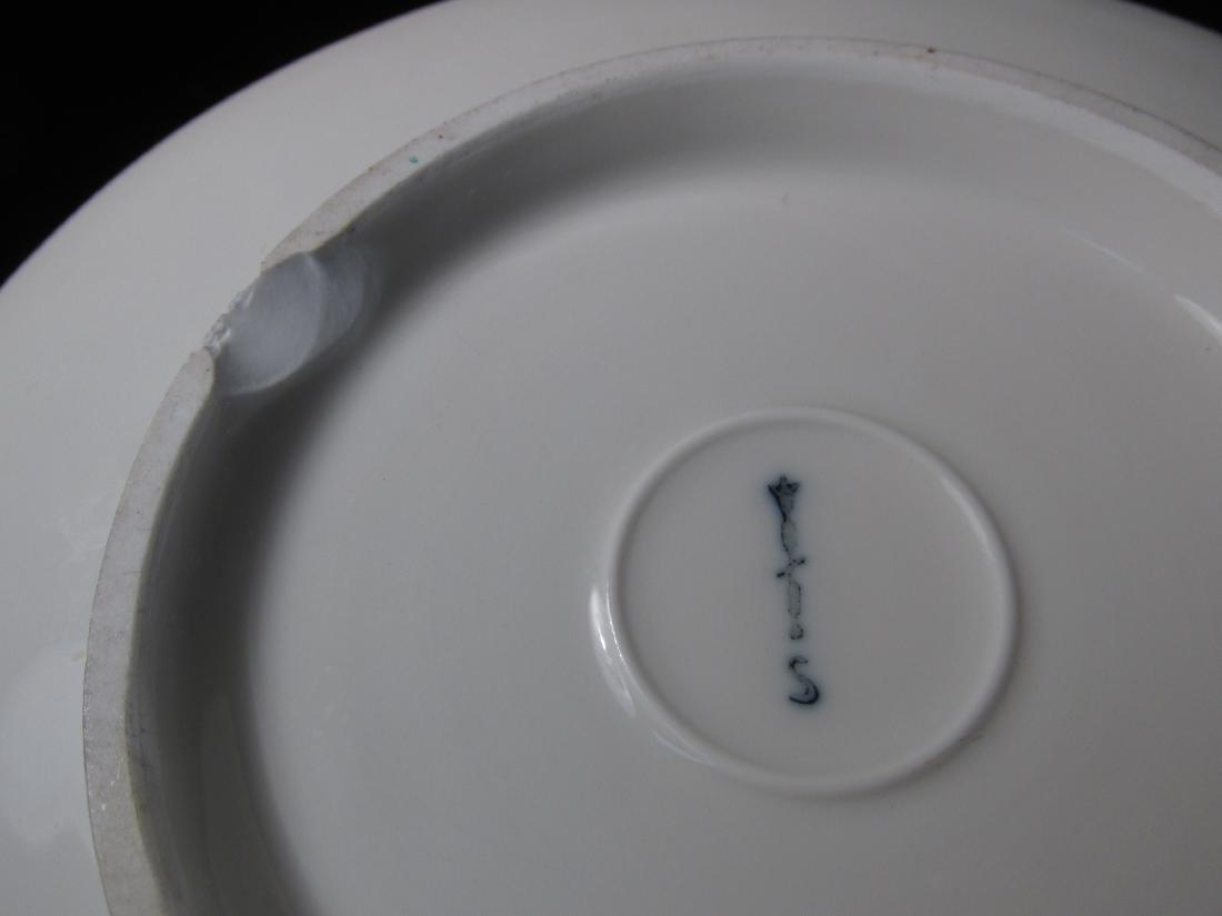 KPM PORCELAIN TABLE WARES 9 pc's - 6